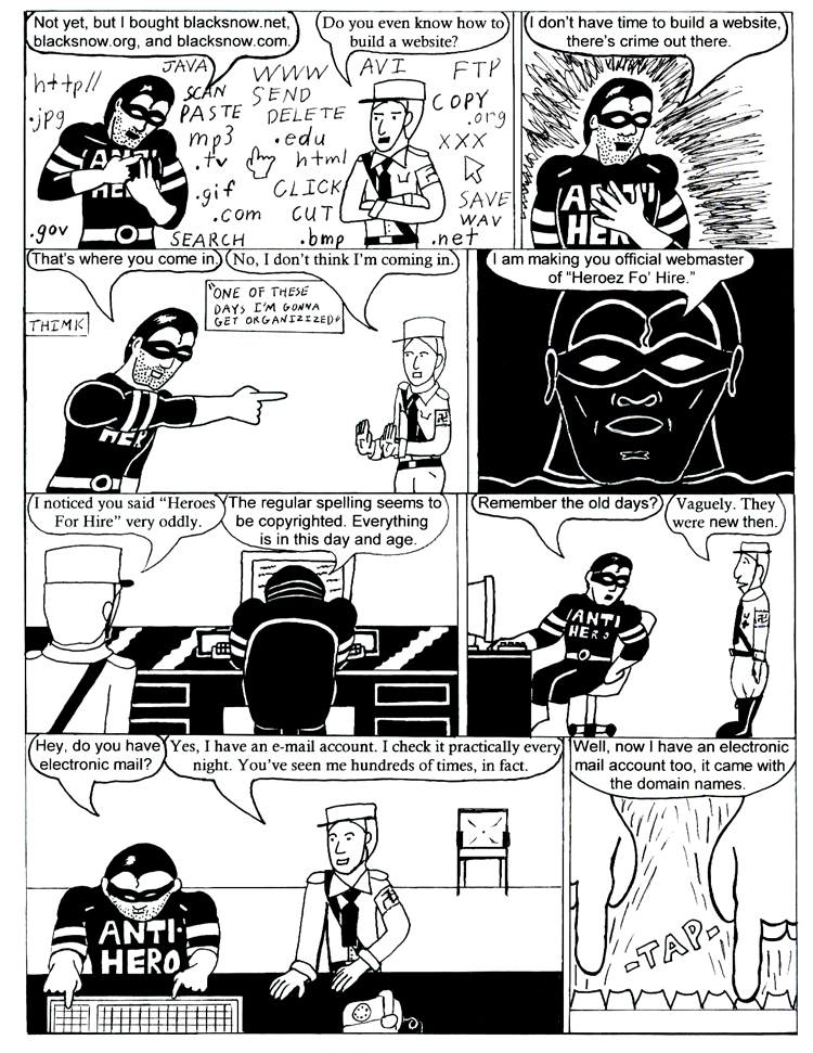 Black Snow Issue 2 page 7