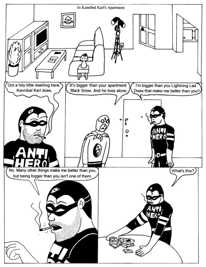 Black Snow Issue 3 page 12