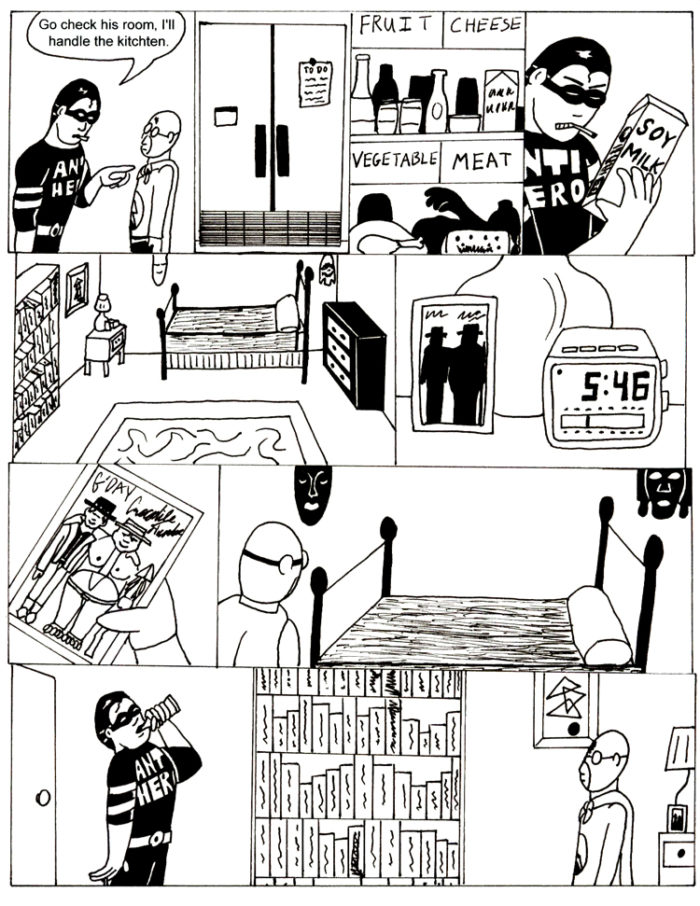 Black Snow Issue 3 page 14