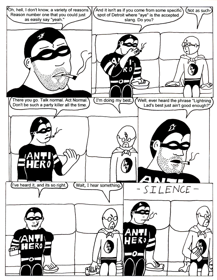 Black Snow Issue 3 page 22