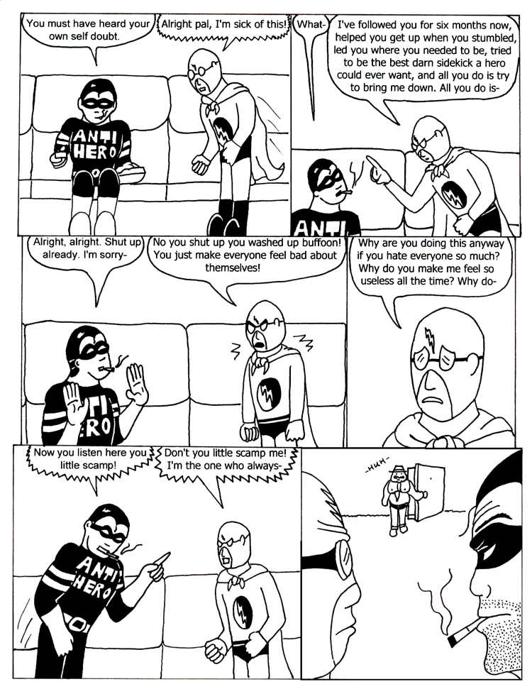 Black Snow Issue 3 page 23