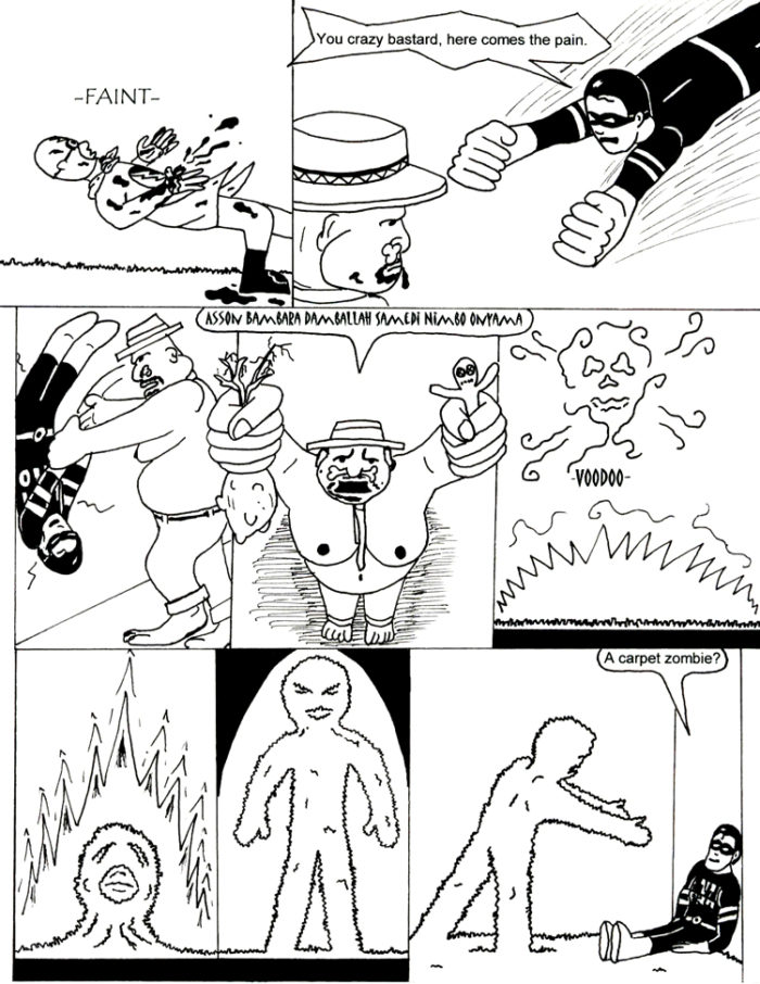 Black Snow Issue 3 page 25