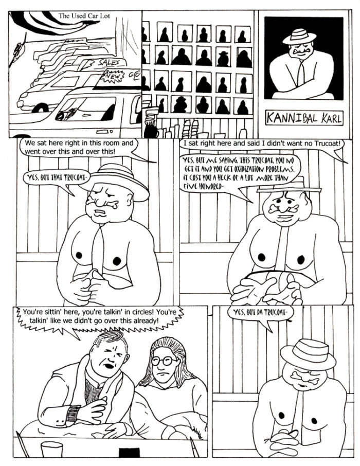 Black Snow Issue 3 page 8