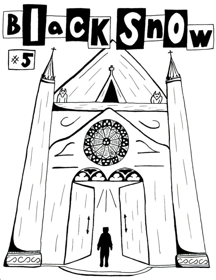 Black Snow Issue 5 cover