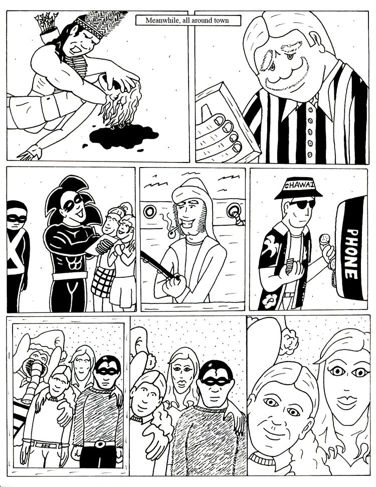 Black Snow Issue 5 page 17