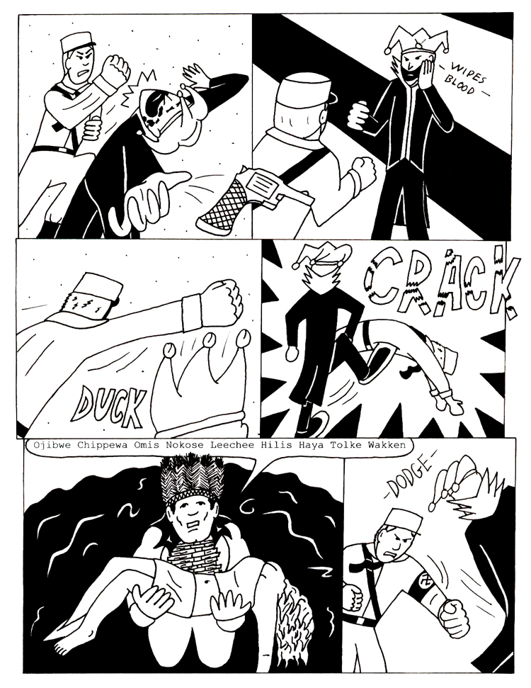 Black Snow Issue 5 page 3