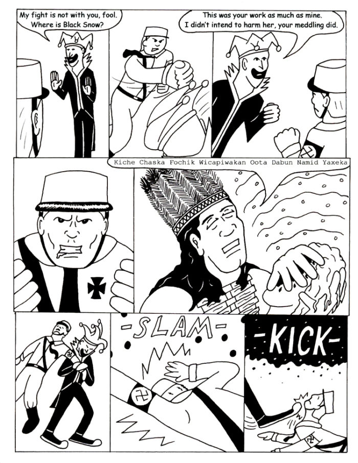 Black Snow Issue 5 page 4