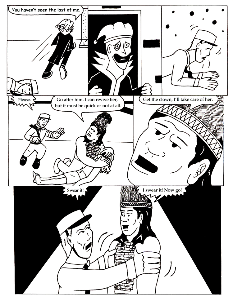 Black Snow Issue 5 page 5