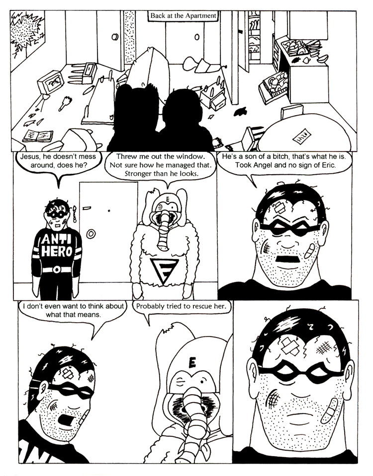 Black Snow Issue 5 page 7
