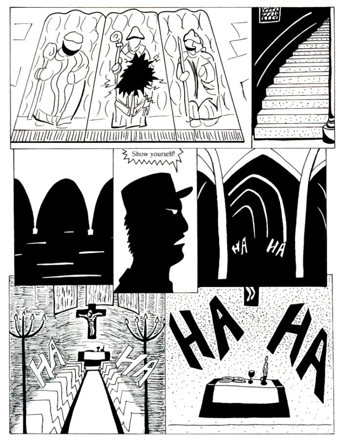 Black Snow Issue 5 page 9