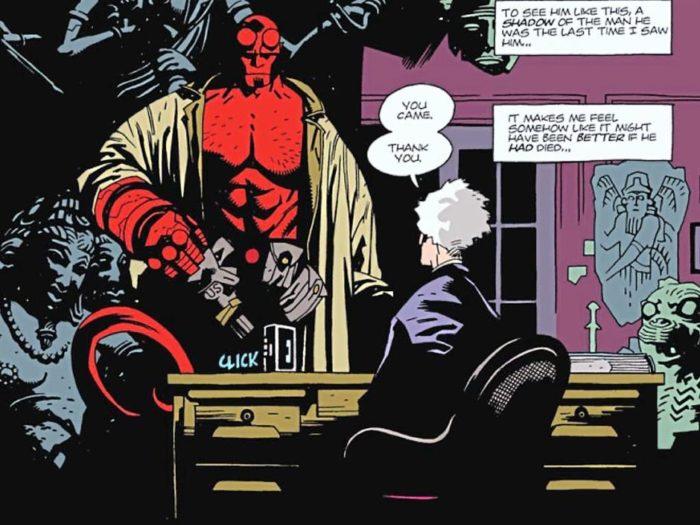 Mike Mignola Hellboy comic