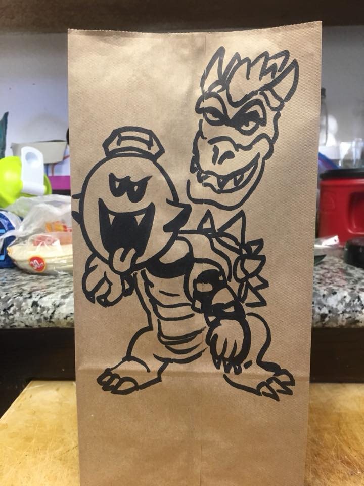 King Boo and Bowser