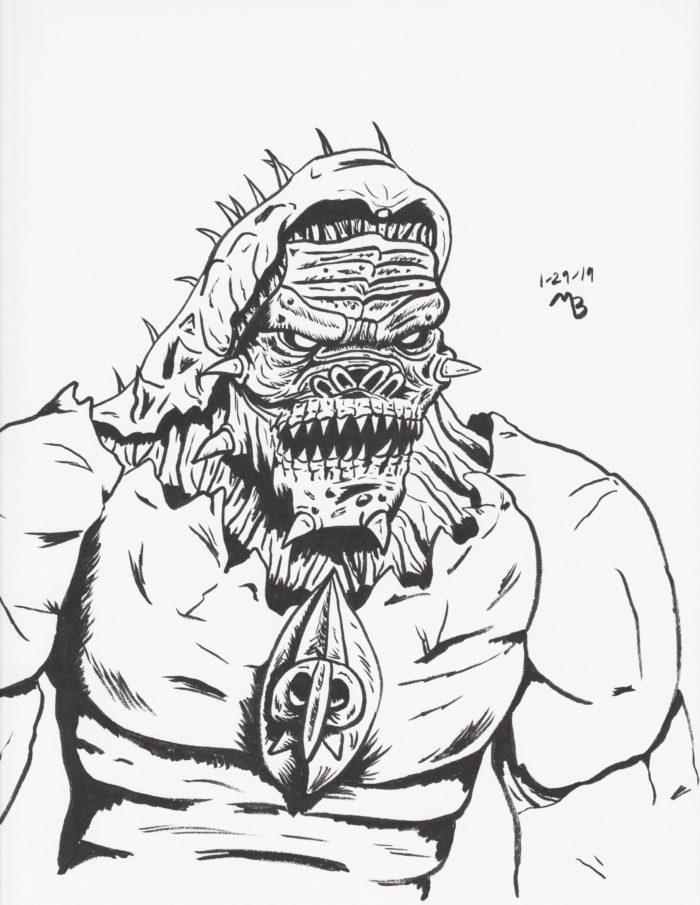 Berserker from Gears of War
