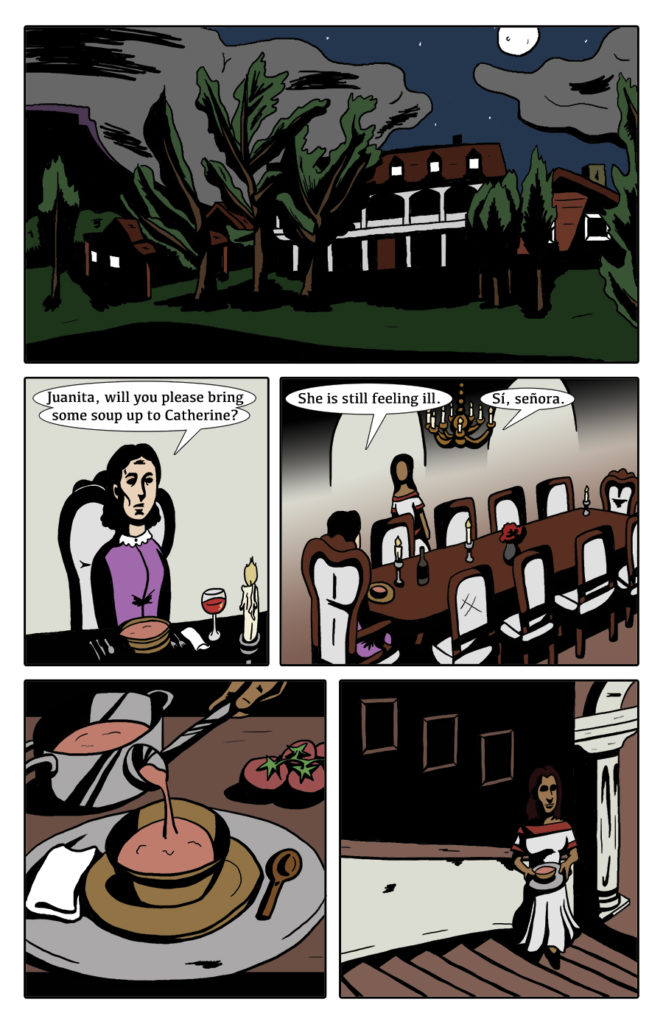 Paranormal Pinkerton Issue #1 page 1