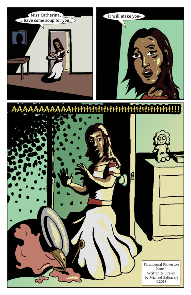 Paranormal Pinkerton Issue #1 page 2