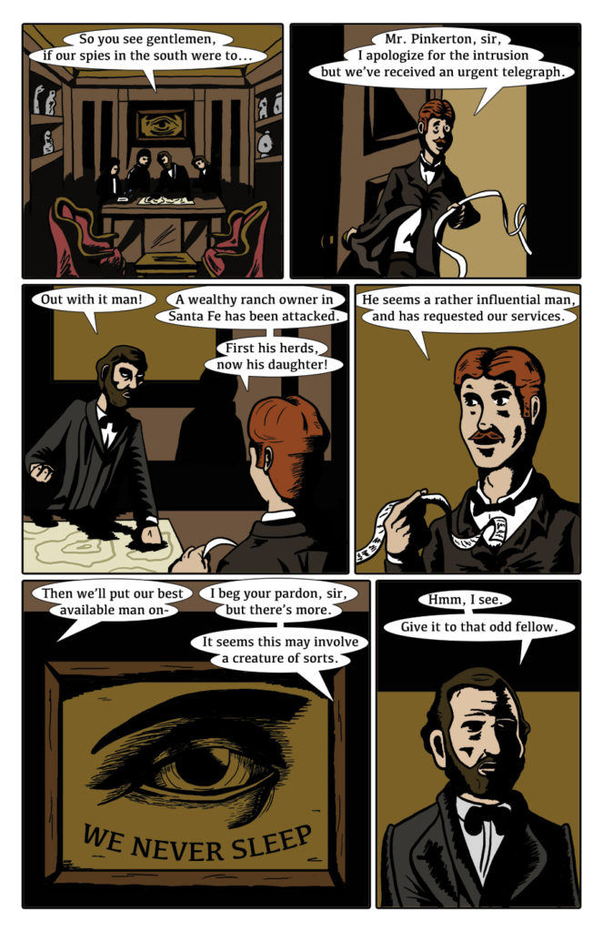 Paranormal Pinkerton Issue #1 page 4