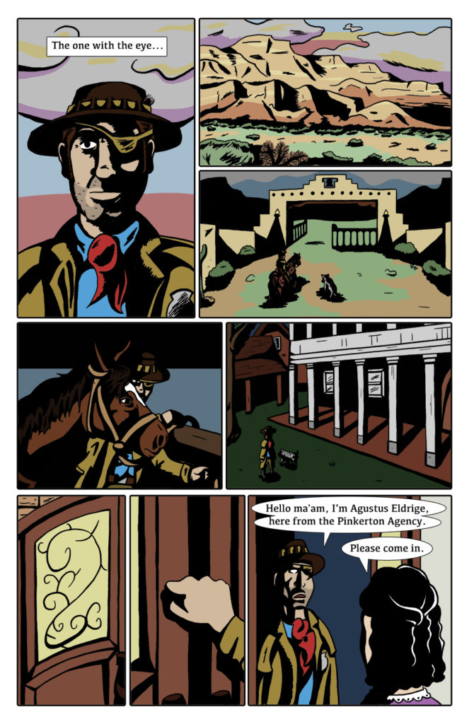 Paranormal Pinkerton Issue #1 page 5