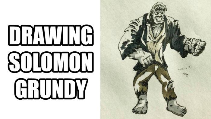 Drawing Solomon Grundy