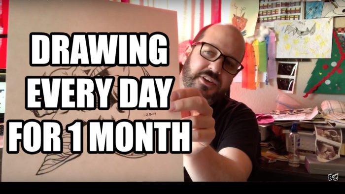 Drawing Every Day for One Month
