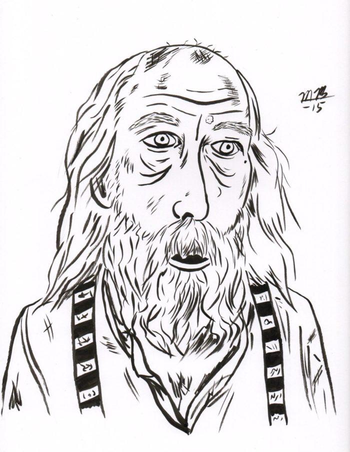 Richardson, beloved imbecile of Deadwood