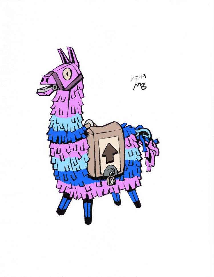 Llama Pinata Fortnite