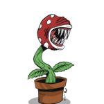 Piranha Plant in color