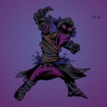 Raven Fortnite in color