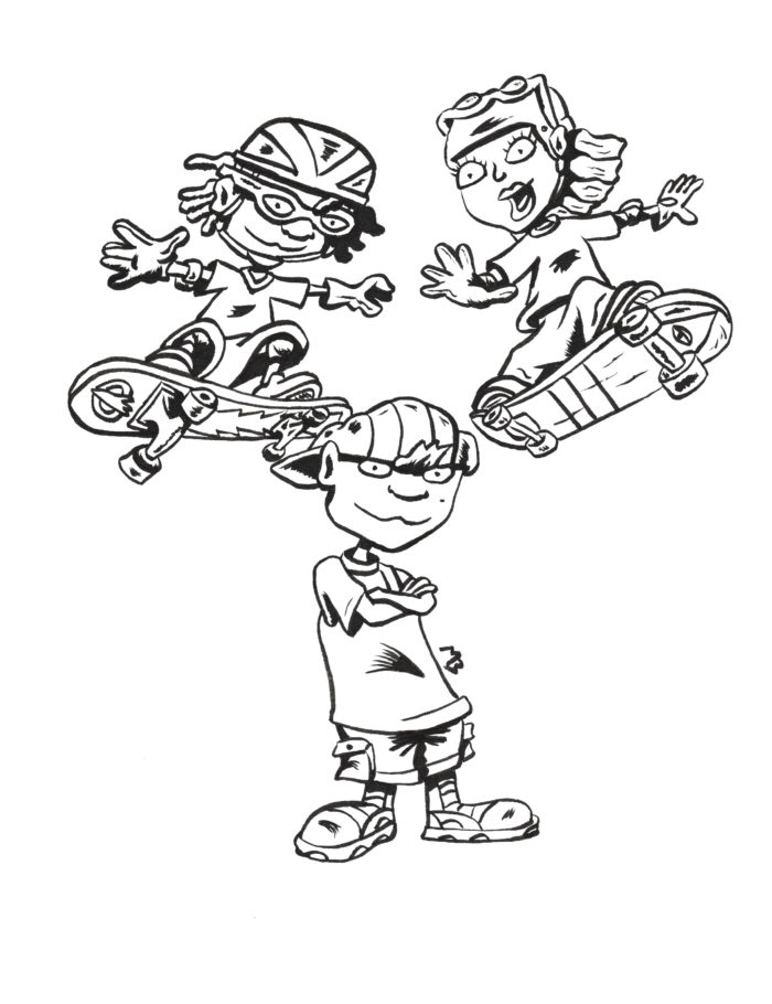 Rocket Power fan art