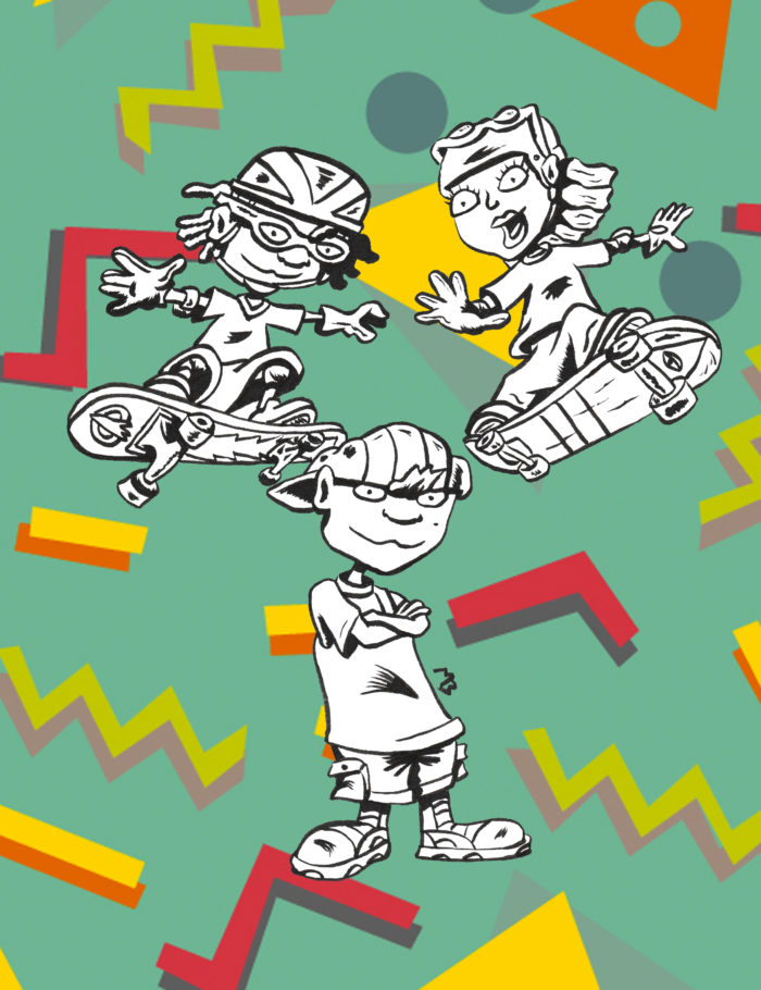 Rocket Power 90s extreme style