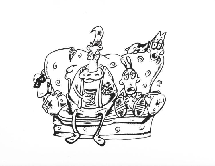 Rocko's Modern Life sketch