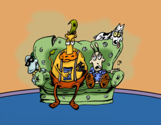Rocko's Modern Life drawing