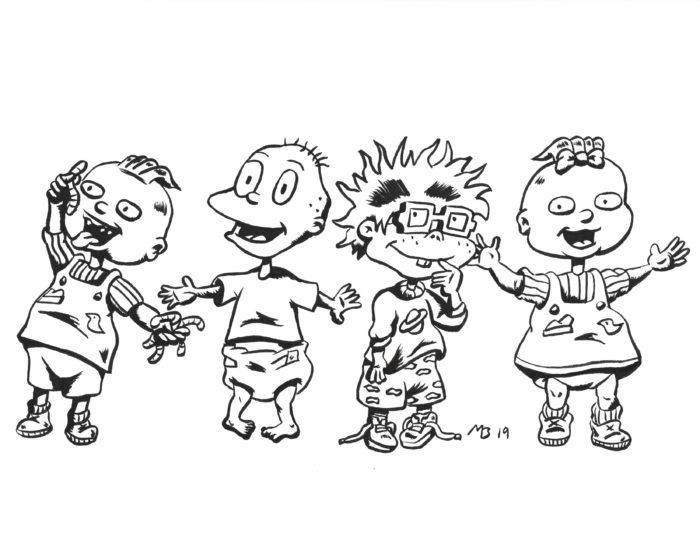 Rugrats sketch