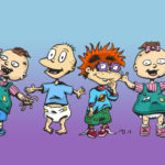 Rugrats drawing