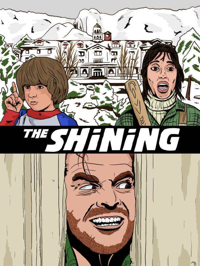 The Shining drawing