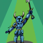 Shovel Knight drawing
