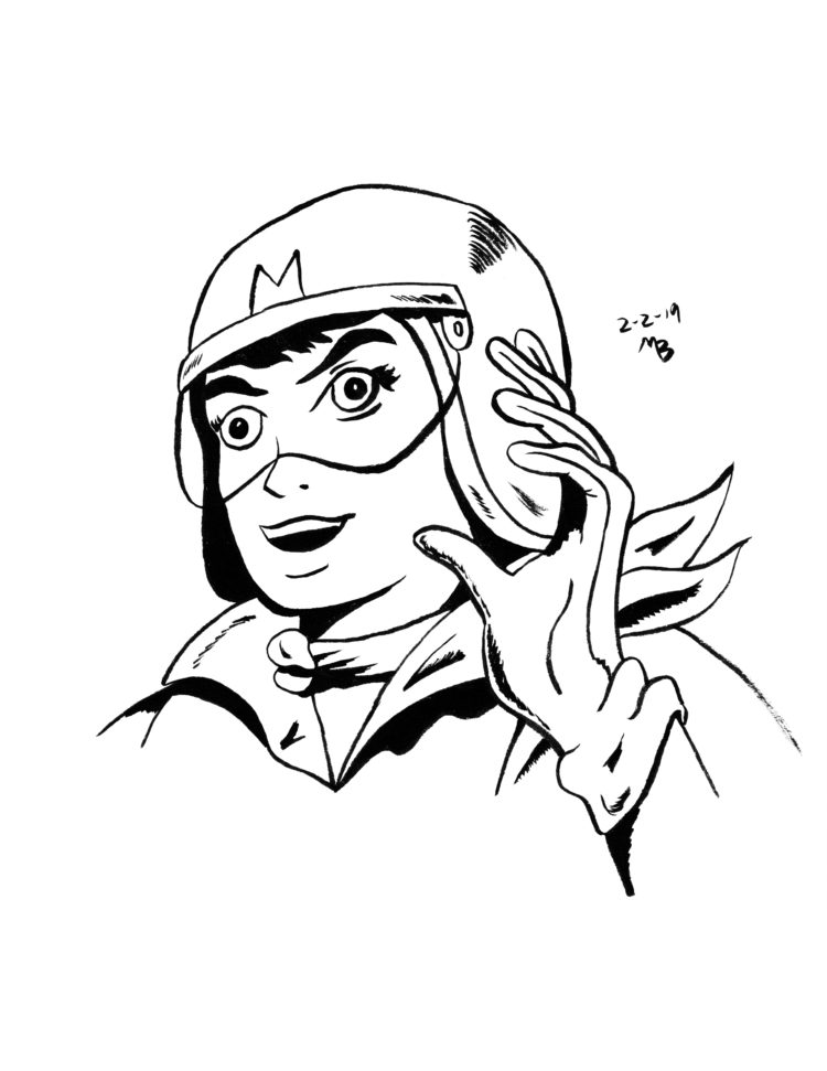 Speed Racer sketch
