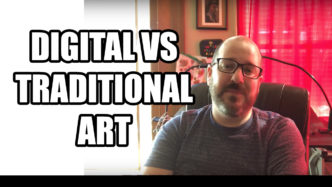 Digital VS Traditional Art
