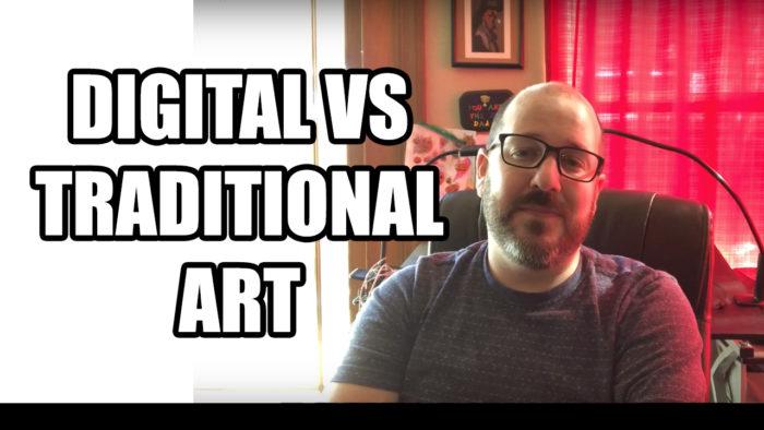 Digital VS Traditional Art