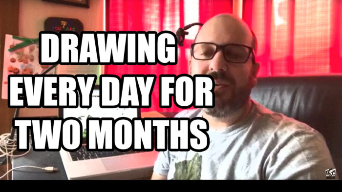 Drawing Every Day for Two Months