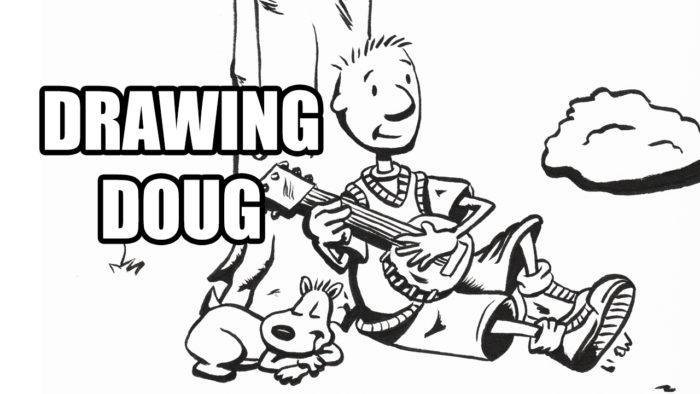 Drawing Doug and Porkchop