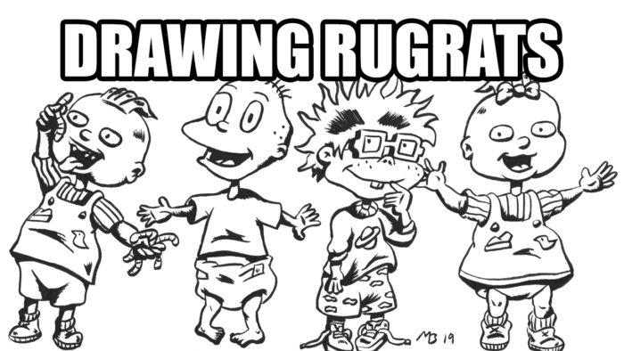 Drawing Rugrats