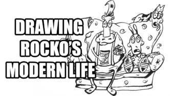 Drawing Rocko's Modern Life