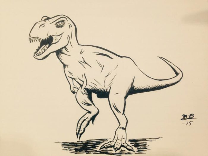 Con Sketch: T-Rex