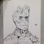 Con Sketch: Groot
