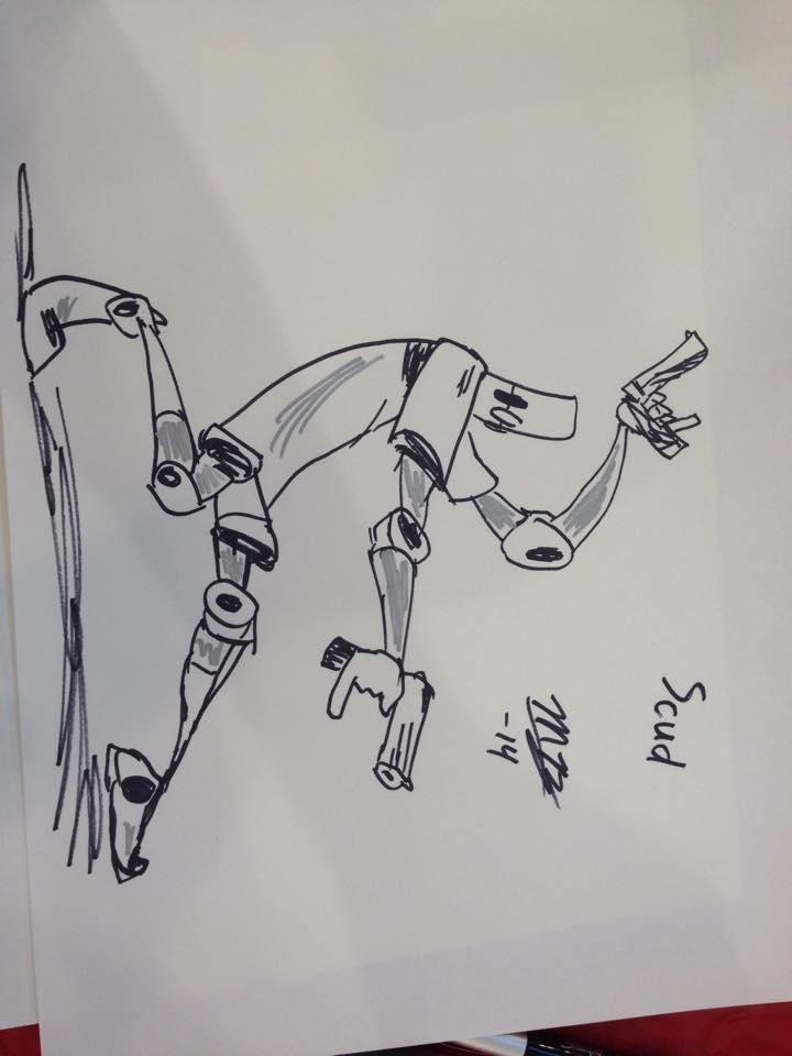 Scud Con Sketch