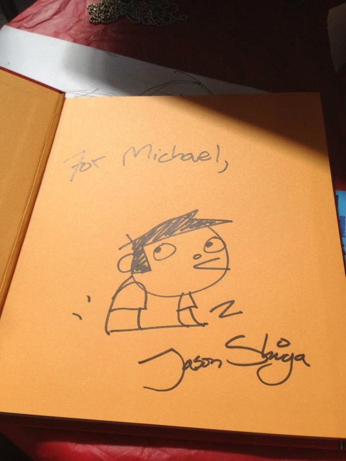Jason Shiga signed book