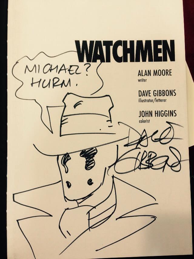 Watchmen signed copy