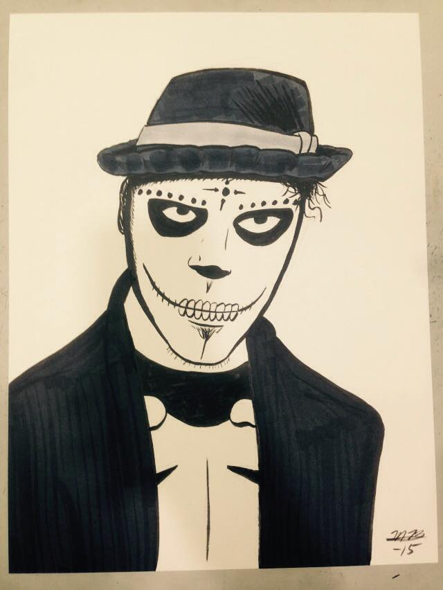 Con Sketch: Day of the Dead