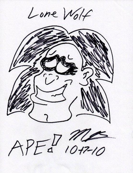 Lone Wolf Sketch