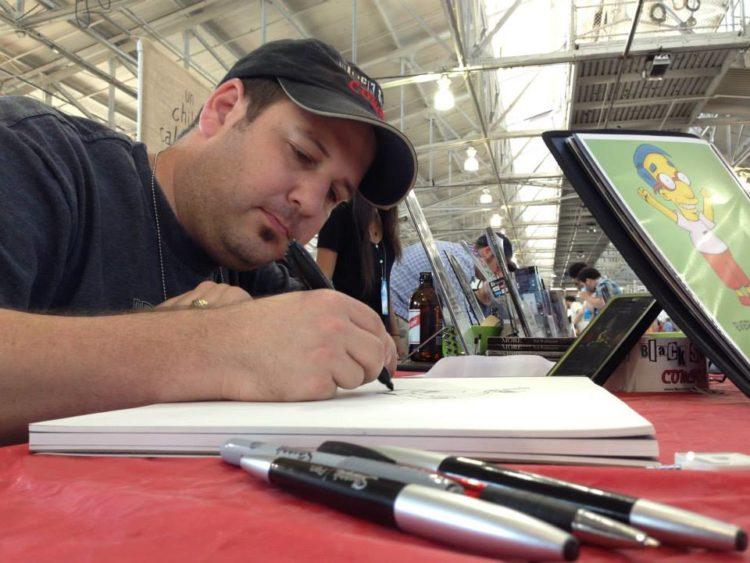 Michael Balistreri sketching